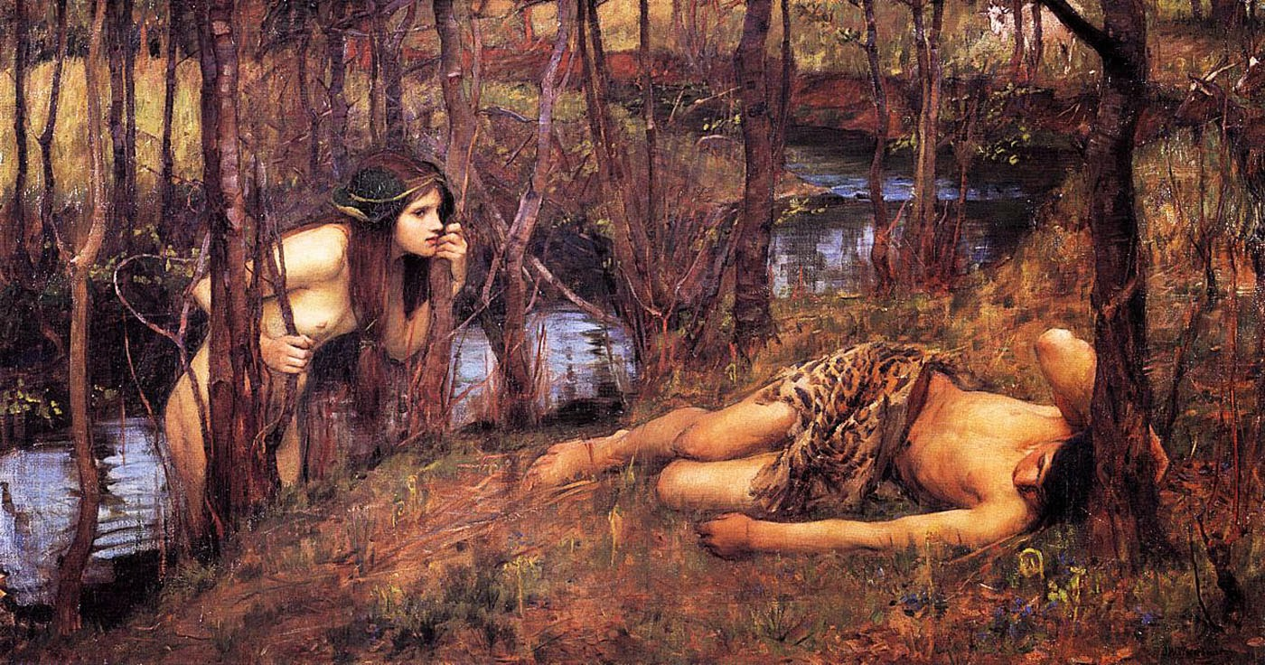 john-william-waterhouse-the-naiad