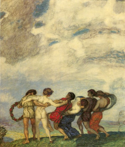 spring-dance-1909 jubilation after tyran's death