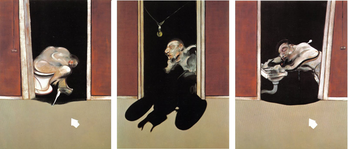Francis Bacon, Triptych (1973)