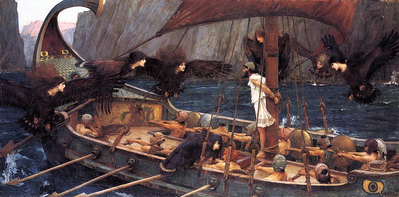 John William Waterhouse Ulysses and the Sirens (1891)